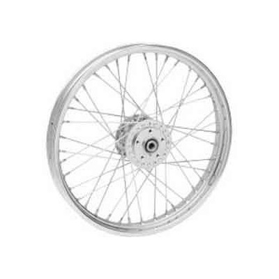 "0203-0412 ROUE AVANT 21X2.15"" CHROME FXR / FXD / XL 1984 / 1999"