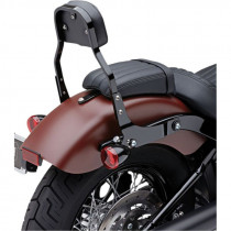 "Sissy Bar Amovible Mini Cobra Square 11"" Noir Softail 06/17"