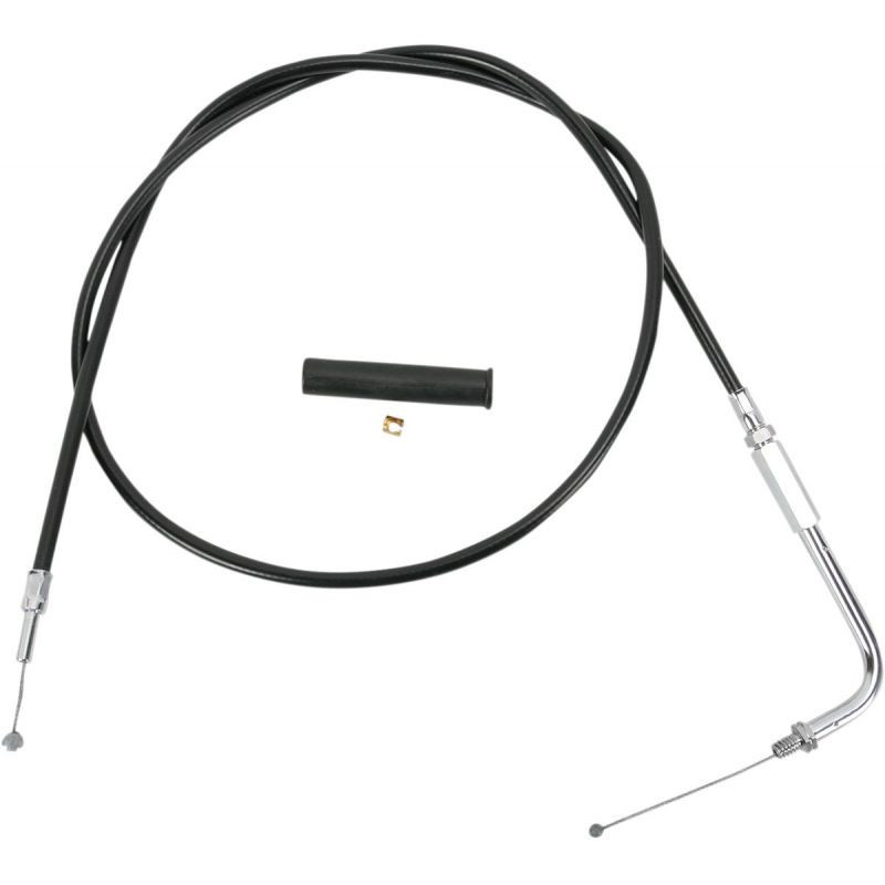 Throttle Cable Black Vinyl 37.5""