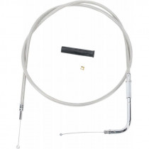 """Throttle Cable Stainless Steel 49"""""""