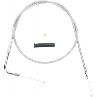 Throttle Cable Stainless Steel 44""