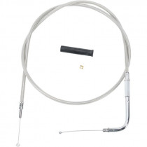 """Throttle Cable Stainless Steel 42"""""""