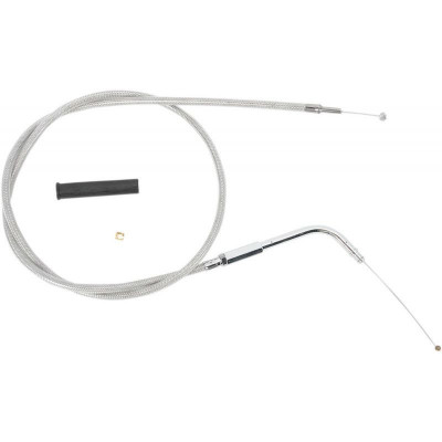 """Throttle Cable Stainless Steel 32.5"""" 90"""