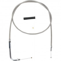 Throttle Cable Stainless Steel 48""