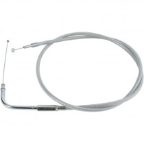 "Throttle Cable Stainless Steel 39.5"" 90"