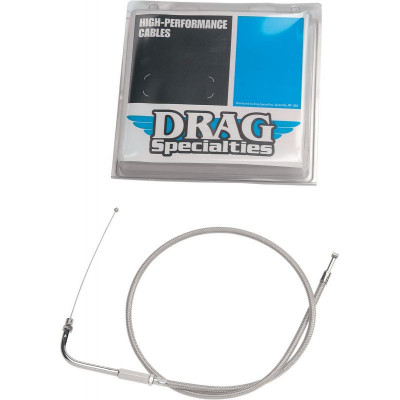 """Throttle Cable Stainless Steel 44"""""""