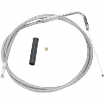 """Throttle Cable Stainless Steel 50"""""""