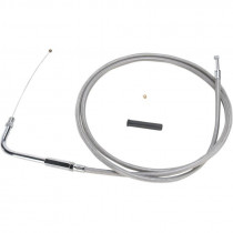"""Throttle Cable Stainless Steel 54"""""""
