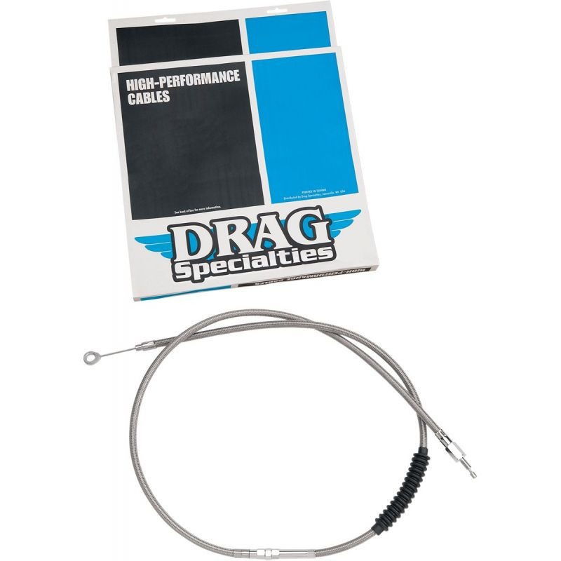 """Clutch Cable High Efficiency Stainless Steel 62 11/16"""""""