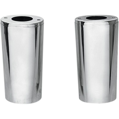 "Slider Cover Chrome 4"" Longer"