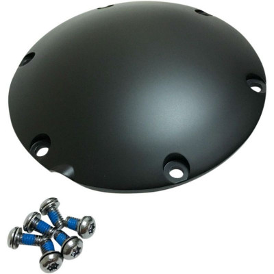 Cover Derby Transmission Satin Black