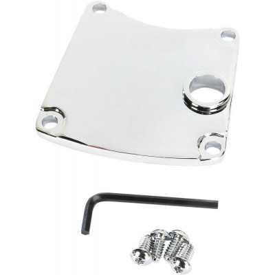 Chrome Primary Chain Inspection Cover