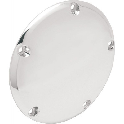 Derby Cover Domed Chrome 5-hole
