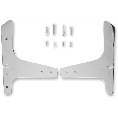 Sissy Bar Side Plate Chrome