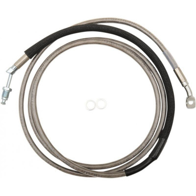 """Clucth Line Stainless Steel + 6"""" Hydraulic"""