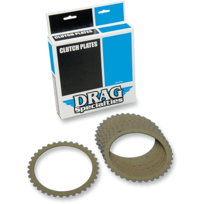 Kit Disques Garnis d'Embrayage Kevlar Dyna, Softail, Sportster, Touring
