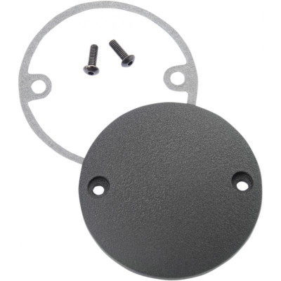 Point Cover Wrinkle Black 2-hole