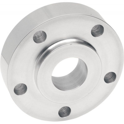"""Rear Belt Pulley Spacer 0.940"""" Chrome"""
