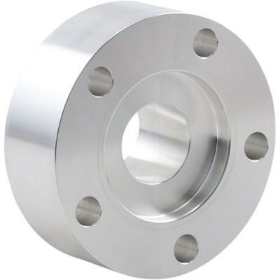 """Rear Belt Pulley Spacer 1.375"""" Chrome"""