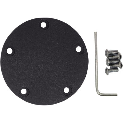 Point Cover Wrinkle Black 5-hole