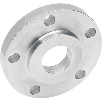 """Rear Belt Pulley Spacer 0.500"""" Chrome"""