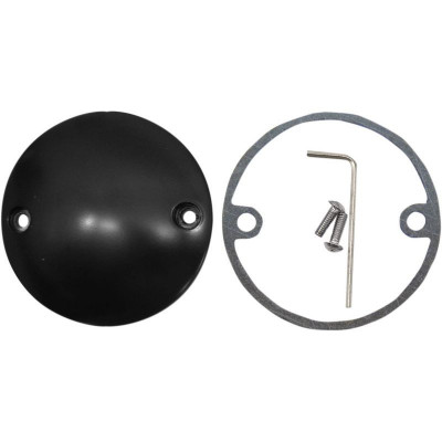 Point Cover Flat Black 2-hole