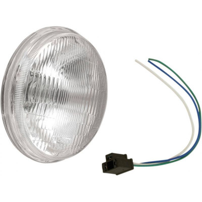 "Replacement Light Assembly For 5.75"" Die-cast Headlight"
