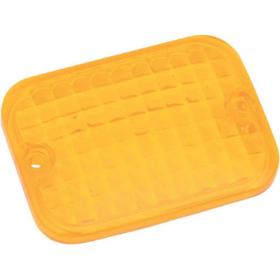 Replacement Lens Rectangular Marker Light Amber