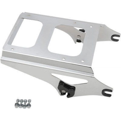 Rack Quick Detach Tour Box Mount Chrome