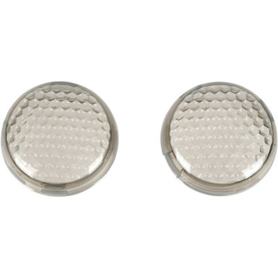 Replacement Turn Signal Lens Smoke Honeycomb