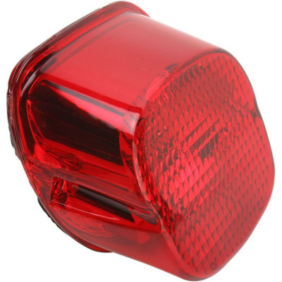 Taillight Laydown Led Red Lens W/ Bottom Taglight