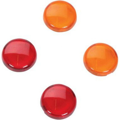 Replacement Amber/red Lens Kit For Mini Deuce Marker Lights
