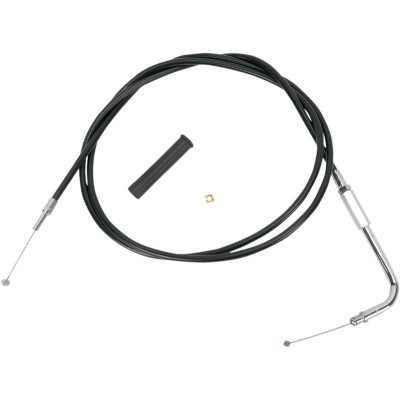 Throttle Cable Black Vinyl 58""