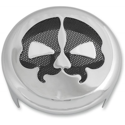 Cover Horn Skull Chrome