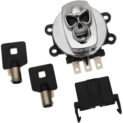 Switch Ignition Skull Chrome