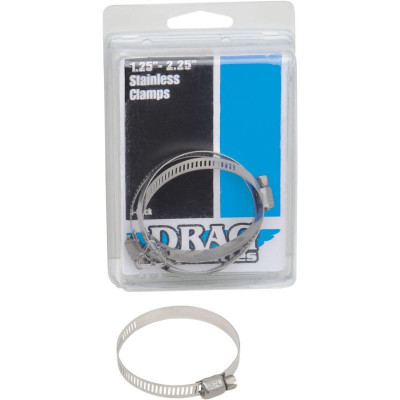"""Stainless Steel Exhaust Clamp 1.25-2.25"""""""