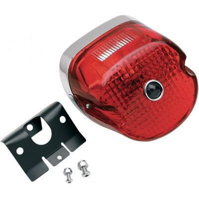 Laydown Taillight Assembly W/ Blue Dot