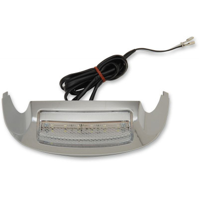 Led Front Fender Tip Light Chrome/clear/white