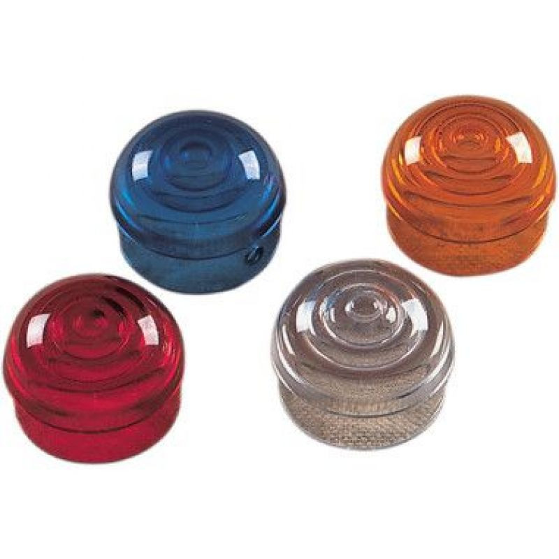 Replacement Amber Lens For Chrome Marker Lights