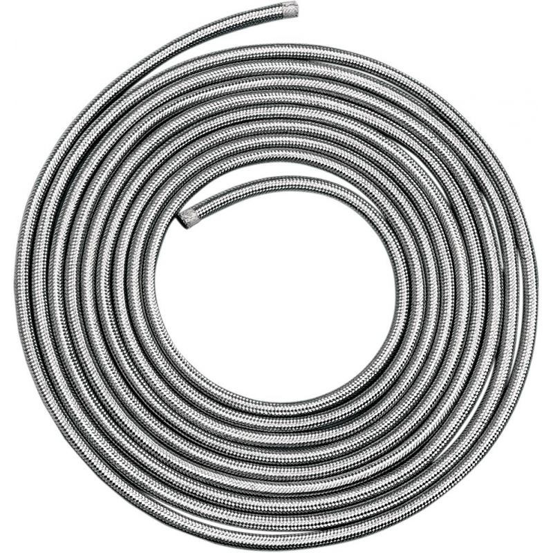 """Stainless Steel Braided Hose 5/16""""x25'"""