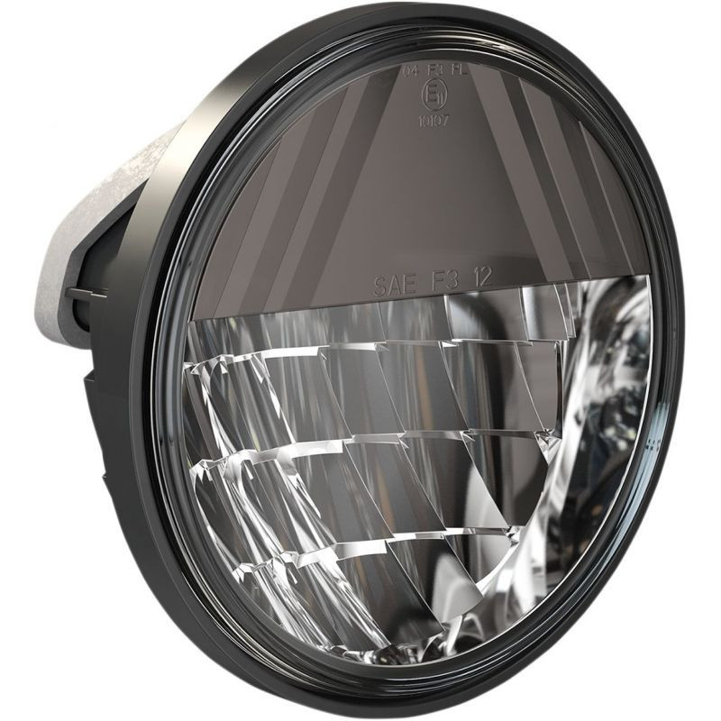 "Lamps Passing Premium 4.5"" Reflector Style Dark Chrome"