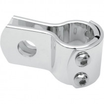 "Universal Clamp 3-pieces 1.125"" Chrome"