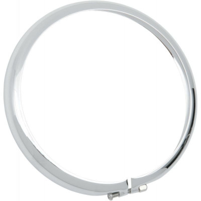 """Replacement Chrome Trim Ring For Bottom-mount Headlight 5.75"""" Pe:20010553"""