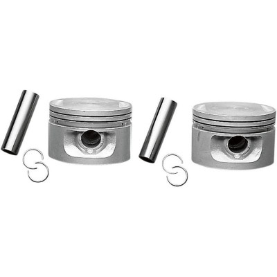 "Kit Pistons 3.498"" +0.010"" Ratio: 8,5:1 Dyna Softail Touring 84/99"