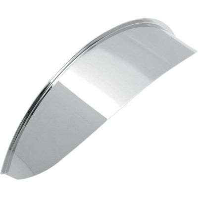 "Headlight Visor 7"" Chrome Plain"