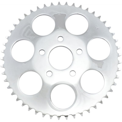 Rear Chain Sprocket Dished 49t Steel/chrome