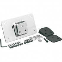 License Plate Mount W/ Angled Rubber Gasket
