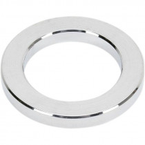 """Outer Axle Spacer Chrome 0.75"""" I.d. 0.141"""" Width"""