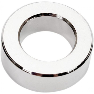 "Outer Axle Spacer Chrome 0.75"" I.d. 0.4375"" Width"