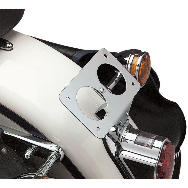 Laydown License Plate Mount Steel